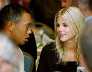Tiger and Elin at 'Cheater of the Year' Ceremony